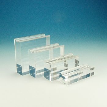 Quadrolith pen stand - set of four acrylic pen stands
